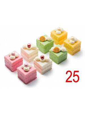 Petit Fours luxe 25 st.